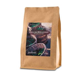 button to buy Organic English Breakfast leaf tea