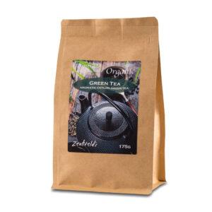 button to buy Organic Green leaf tea