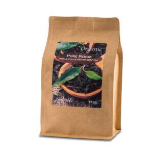 button to buy Organic Pure Pekoe leaf tea