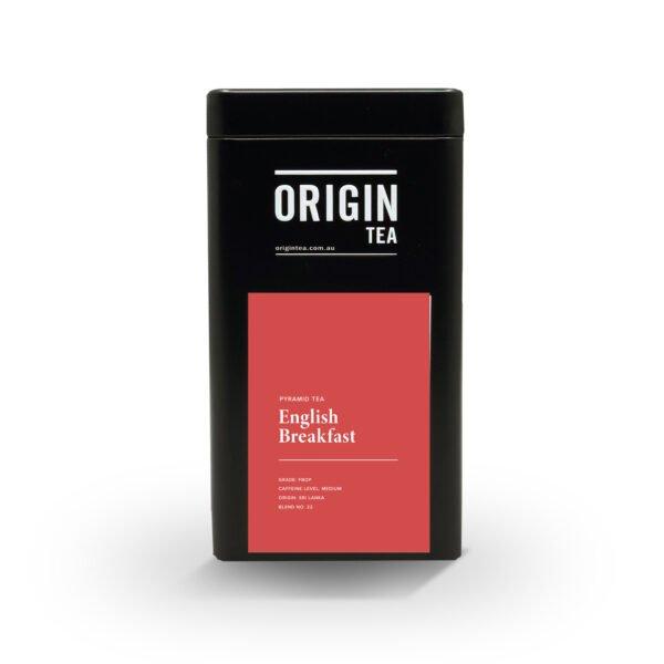 button to buy Origin English Breakfast Pyramid Tea Tin