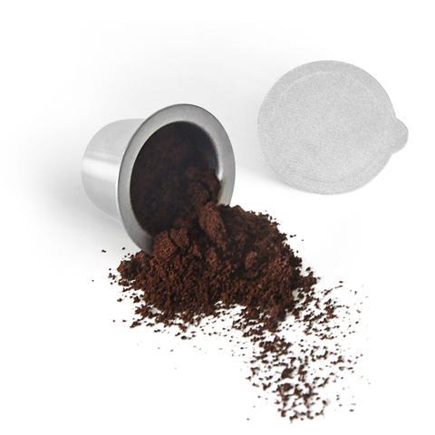 SealPod ready with ground espresso