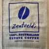 Zentveld logo hessian bag